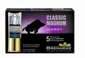 Amunicja 12/70 Brenneke Classc Magnum 31,5g  (5 szt.)