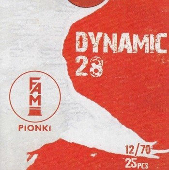 """Amunicja 12/70 Pionki Dynamic """"4"""" gwiazdka 28g (25 szt.)"""