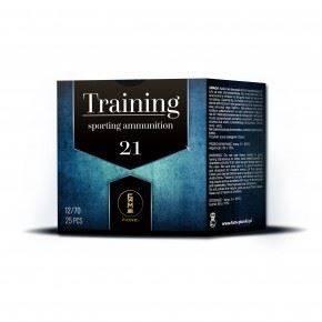 """Amunicja 12/70 Pionki Skeet Training """"9"""" gwiazdka 21g (25 szt.)"""