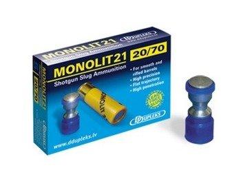 Amunicja 20/70 Ddupleks Monolit 21g (5 szt.)