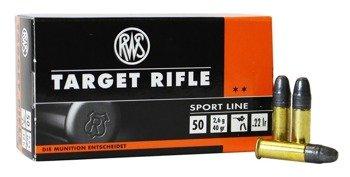 Amunicja .22LR RWS Target Rifle 2.6g/40gr (50 szt.)