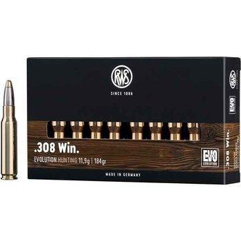 Amunicja .308Win RWS Evolution 11,9g/184gr (20 szt)
