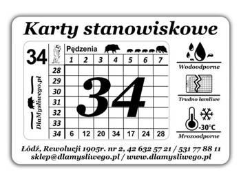 Karty stanowiskowe (21-34)