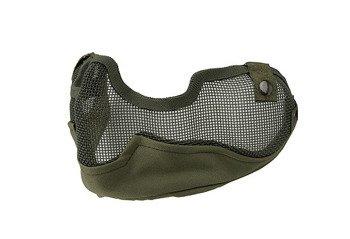 Maska Ultimate Tactical typu Stalker V3 - oliwkowa