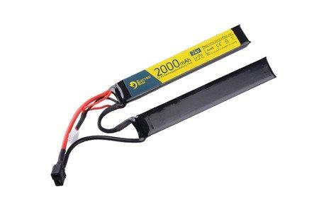 Akumulator LiPo 7,4V 2000mAh 15/30C T-connect (DEANS) - 2 modułowy