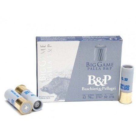 Amunicja 12/70 Breneka B&P Big Game Palla B&P 32g (10 szt.)