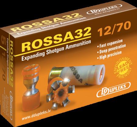 Amunicja 12/70 Ddupleks Rossa 32g (5 szt.)