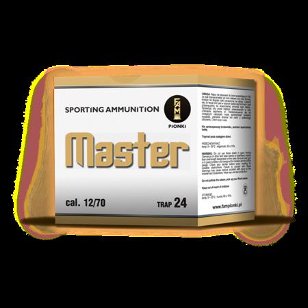 """Amunicja 12/70 Pionki Trap Master """"7,5"""" gwiazdka 24g (25 szt.)"""