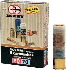 Amunicja 20/70 Breneka Sauvestre Sans Plomb 20.6g (5 szt.)