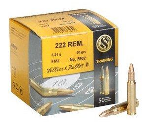 Amunicja .222 Rem S&B FMJ Training 3.24g/50gr (50 szt.)