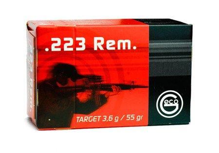 Amunicja .223 Rem GECO FMJ Target 3,6g/55gr (50 szt.)