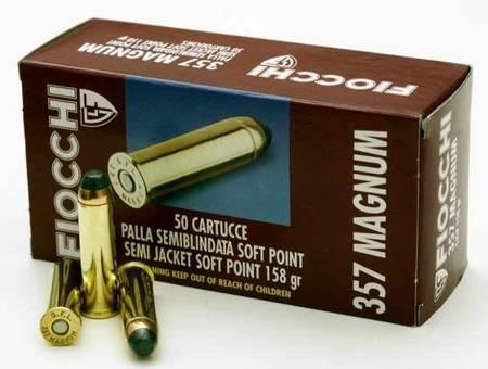 Amunicja .357 Mag Fiocchi SJSP 8,1g/125gr (50 szt)