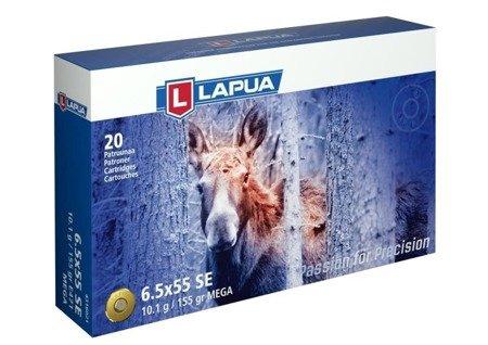Amunicja 6.5x55SE Lapua Mega SP 10.1g/155gr (20 szt.)
