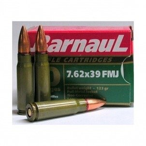 Amunicja 7,62x39 Barnaul FMJ 8g/123gr (20 szt.)