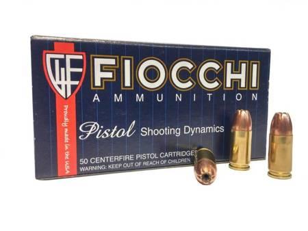 Amunicja 9x19 Fiocchi JHP 7,45g/115gr (50 szt.)