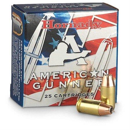 Amunicja 9x19 Hornady XTP American Gunner 7,5g/115gr (25 szt.)