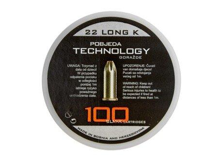 Amunicja hukowa 6 mm LONG / .22 LONG K - PTG
