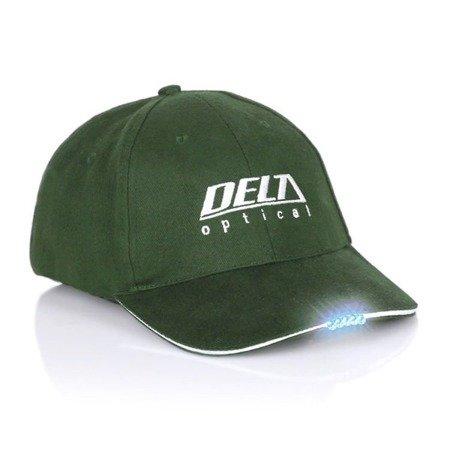 Czapka delta z latarką