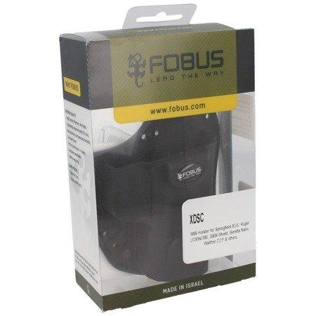 Kabura Fobus XDS, Ruger LC9/9S/380, S&W Shield, Beretta Nano - Prawa