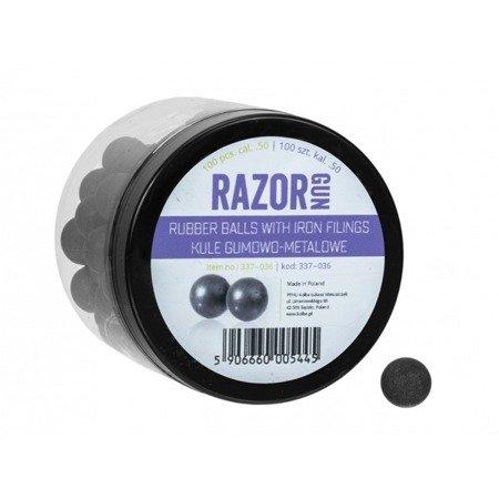 Kule gumowo-metalowe RazorGun 50 kal. .50 / 100 szt. do Umarex HDR50 HDP50