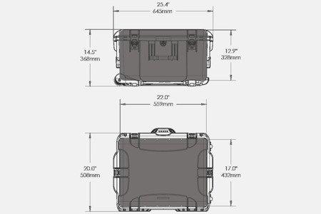 NANUK 960 DJI RONIN MX Oliwkowy