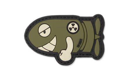 Naszywka 3D Funny Torpedo Zielony OD - 101 Inc.