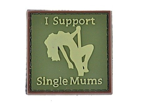 Naszywka I support single mums