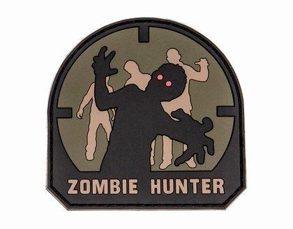 Naszywka Zombie Hunter - piaskowa