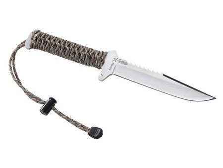 Nóż survivalowy Wildsteer TX Wild Satin - powystawowy