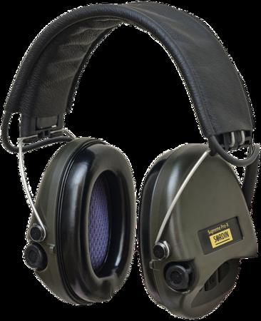 Ochronniki Słuchu Sordin Supreme Pro-X Leather zielone nagłowne