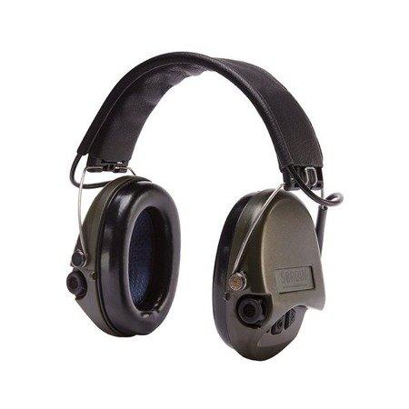 Ochronniki Słuchu Sordin Supreme Pro zielone nagłowne