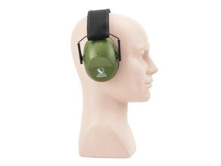 Pasywne ochronniki słuchu RealHunter PASSiVE oliwkowe