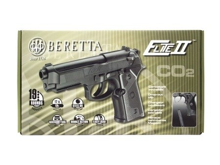 Pistolet Wiatrówka Beretta Elite II 4.5 mm CO2