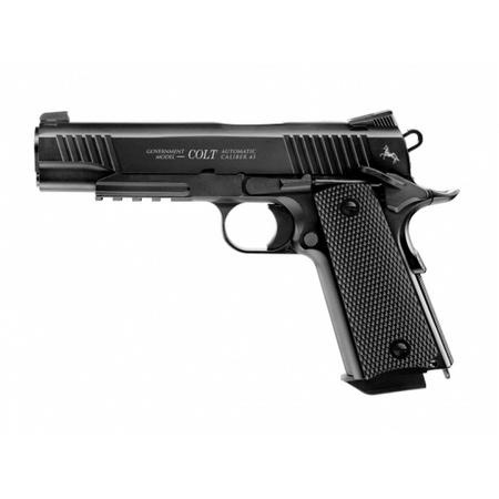Pistolet wiatrówka Colt M45 CQBP czarny 4,5 mm BB CO2