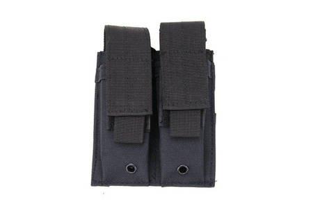 Podwójna ładownica pistoletowa - czarna