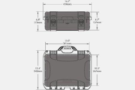 Skrzynia transportowa Nanuk 920 DJI™ MAVIC czarna
