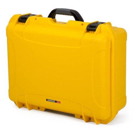 Skrzynia transportowa Nanuk 940 żółta - wkład modułowy FOTO