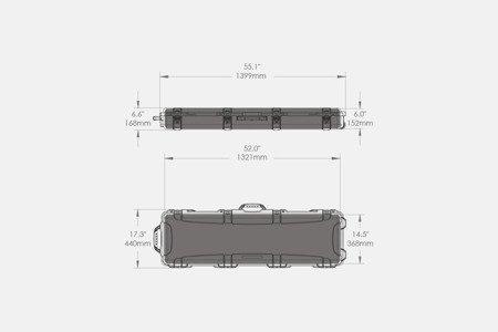 Skrzynia transportowa Nanuk 995 Tan - bez wypełniania