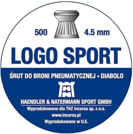 Śrut 4,5 H&N Logo Sport (500 szt.)