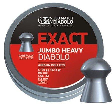 Śrut 5,5 Exact JSB Jumbo Heavy (500 szt.)