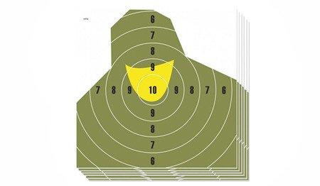 Tarcza strzelecka NT 23P Popiersie żołnierza