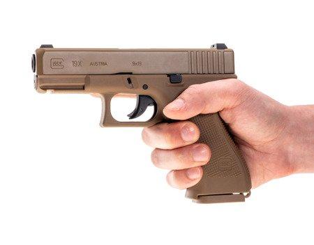 Wiatrówka CO2 Glock 19X 4,5 mm