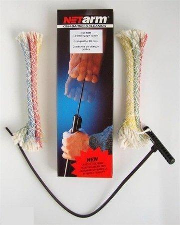 Zestaw wycior sznurowy 30 cm + po dwa przecieraki kaliber 5.56 mm/7 mm/8 mm/9 mm/.45